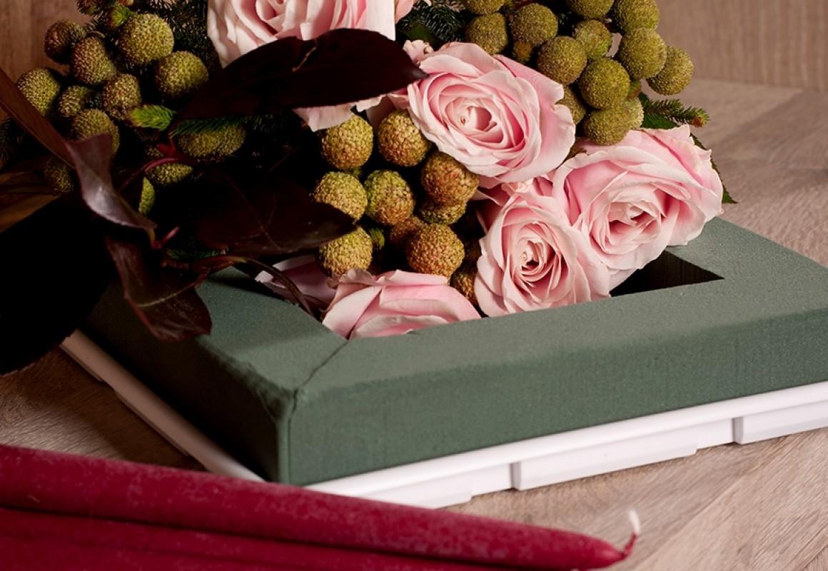 Kerst Tafel Decoratie : Advent & kerst tafeldecoratie oasis® floral products