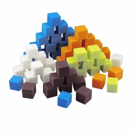 OASIS® RAINBOW® Foam Mini-Cubes