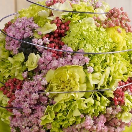 Première décoration de table de printemps