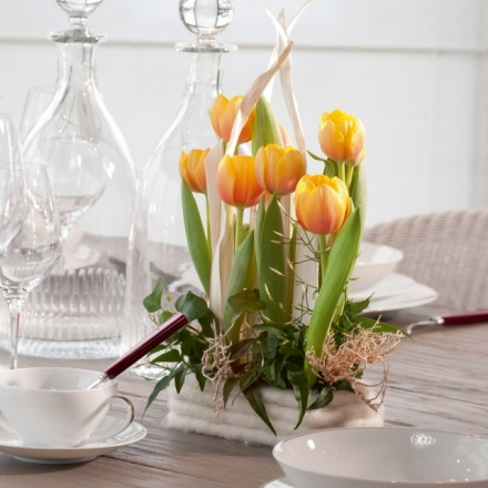 Commercial spring arrangement