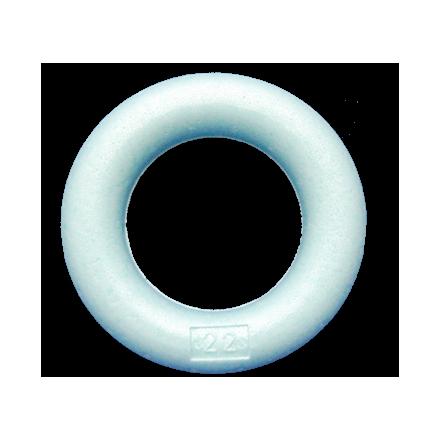 Styropor Ring Rond-Om-Rond