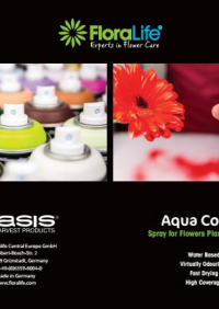 Floralife® Aqua Colors Brochure